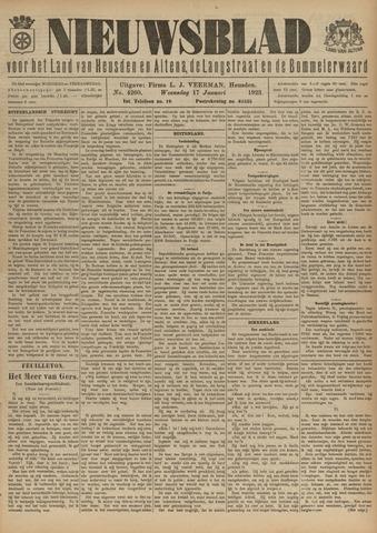 Nieuwsblad het land van Heusden en Altena de Langstraat en de Bommelerwaard 1923-01-17