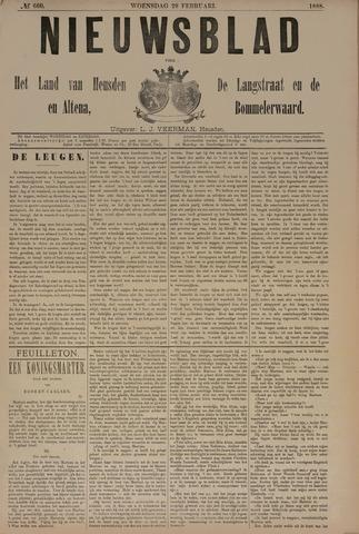 Nieuwsblad het land van Heusden en Altena de Langstraat en de Bommelerwaard 1888-02-29