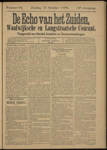 Echo van het Zuiden 1896-10-11