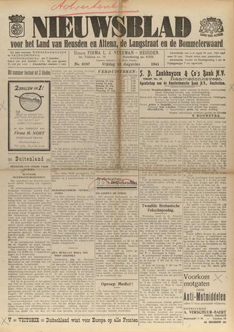 Nieuwsblad het land van Heusden en Altena de Langstraat en de Bommelerwaard 1941-08-23