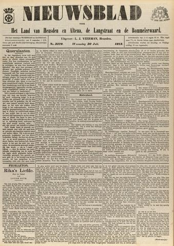 Nieuwsblad het land van Heusden en Altena de Langstraat en de Bommelerwaard 1913-07-30