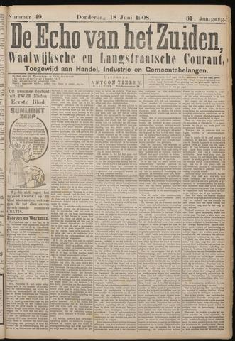 Echo van het Zuiden 1908-06-18
