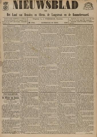 Nieuwsblad het land van Heusden en Altena de Langstraat en de Bommelerwaard 1900-09-29