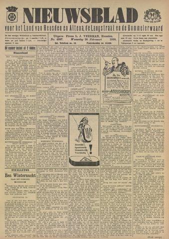 Nieuwsblad het land van Heusden en Altena de Langstraat en de Bommelerwaard 1930-02-26