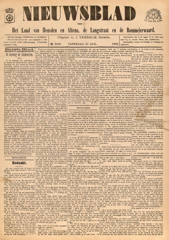 Nieuwsblad het land van Heusden en Altena de Langstraat en de Bommelerwaard 1905-08-12