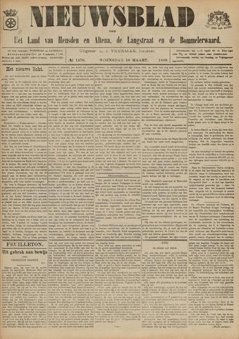 Nieuwsblad het land van Heusden en Altena de Langstraat en de Bommelerwaard 1896-03-18