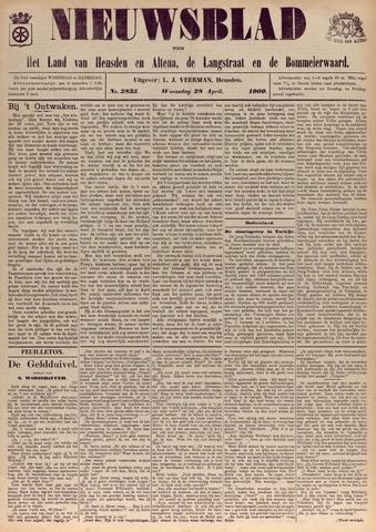Nieuwsblad het land van Heusden en Altena de Langstraat en de Bommelerwaard 1909-04-28