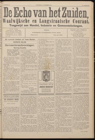 Echo van het Zuiden 1936-11-04