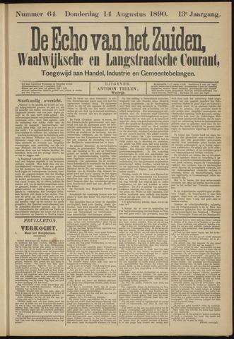 Echo van het Zuiden 1890-08-14