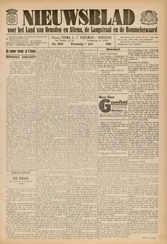 Nieuwsblad het land van Heusden en Altena de Langstraat en de Bommelerwaard 1936-07-07