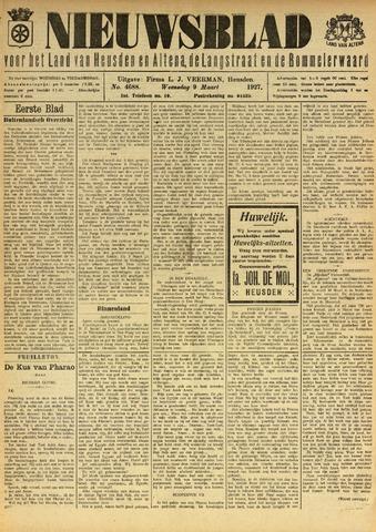 Nieuwsblad het land van Heusden en Altena de Langstraat en de Bommelerwaard 1927-03-09
