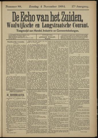 Echo van het Zuiden 1894-11-04