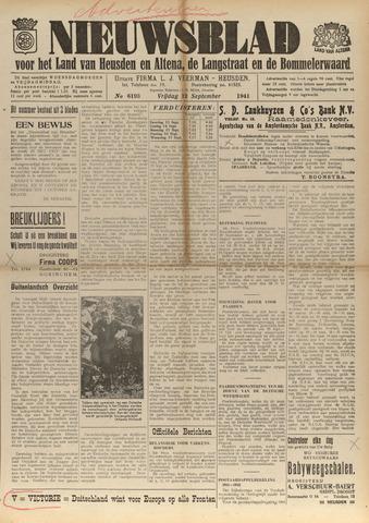 Nieuwsblad het land van Heusden en Altena de Langstraat en de Bommelerwaard 1941-09-12