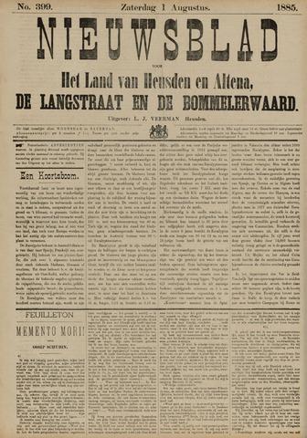 Nieuwsblad het land van Heusden en Altena de Langstraat en de Bommelerwaard 1885-08-01