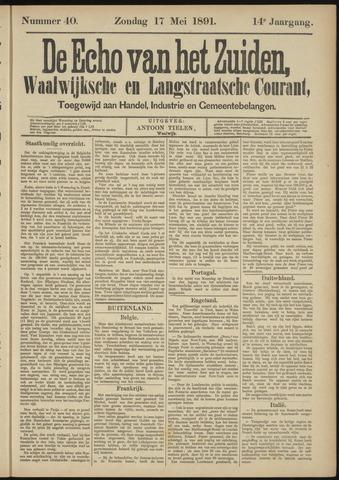 Echo van het Zuiden 1891-05-17