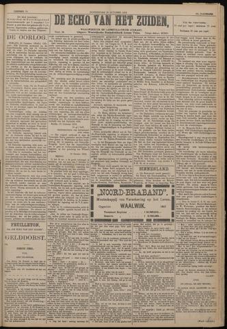 Echo van het Zuiden 1918-10-24