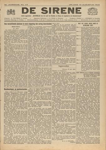 De Sirene 1945-08-10