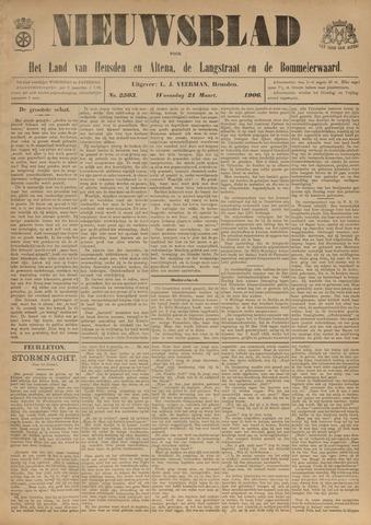 Nieuwsblad het land van Heusden en Altena de Langstraat en de Bommelerwaard 1906-03-21
