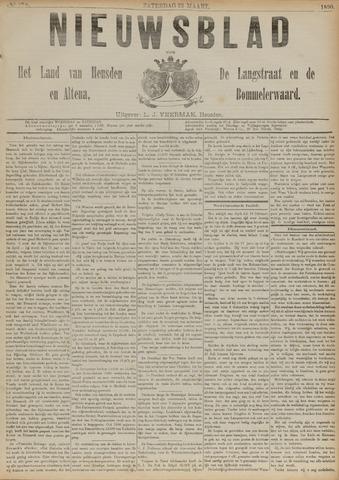 Nieuwsblad het land van Heusden en Altena de Langstraat en de Bommelerwaard 1890-03-22