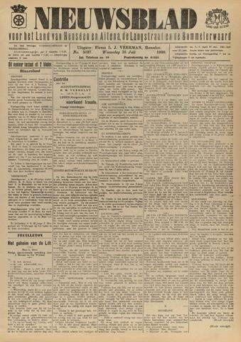Nieuwsblad het land van Heusden en Altena de Langstraat en de Bommelerwaard 1930-07-16