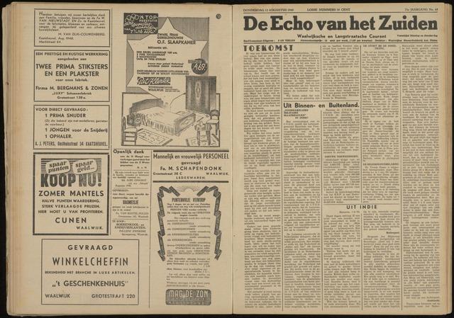 Echo van het Zuiden 1948-08-12