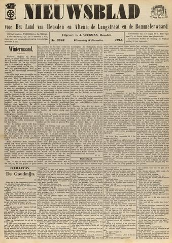 Nieuwsblad het land van Heusden en Altena de Langstraat en de Bommelerwaard 1915-12-08