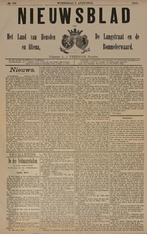 Nieuwsblad het land van Heusden en Altena de Langstraat en de Bommelerwaard 1888-08-08