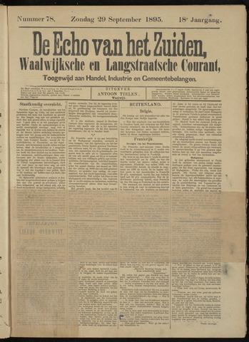 Echo van het Zuiden 1895-09-29