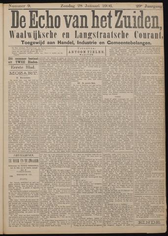 Echo van het Zuiden 1906-01-28