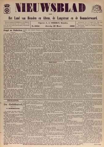 Nieuwsblad het land van Heusden en Altena de Langstraat en de Bommelerwaard 1909-03-20