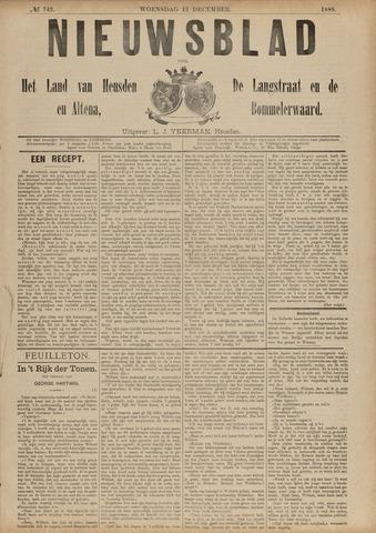 Nieuwsblad het land van Heusden en Altena de Langstraat en de Bommelerwaard 1888-12-12