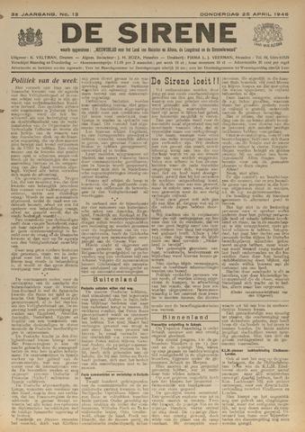 De Sirene 1946-04-25