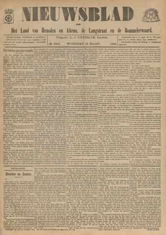 Nieuwsblad het land van Heusden en Altena de Langstraat en de Bommelerwaard 1904-03-16