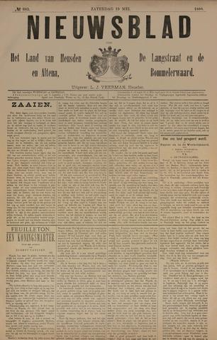 Nieuwsblad het land van Heusden en Altena de Langstraat en de Bommelerwaard 1888-05-19