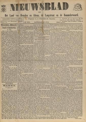 Nieuwsblad het land van Heusden en Altena de Langstraat en de Bommelerwaard 1904-07-23