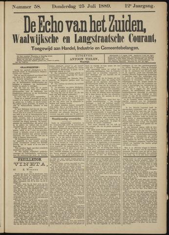 Echo van het Zuiden 1889-07-25