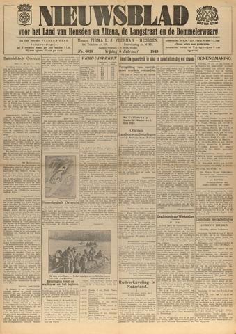 Nieuwsblad het land van Heusden en Altena de Langstraat en de Bommelerwaard 1943-02-05