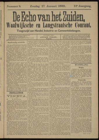 Echo van het Zuiden 1889-01-27