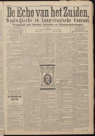 Echo van het Zuiden 1925-02-07