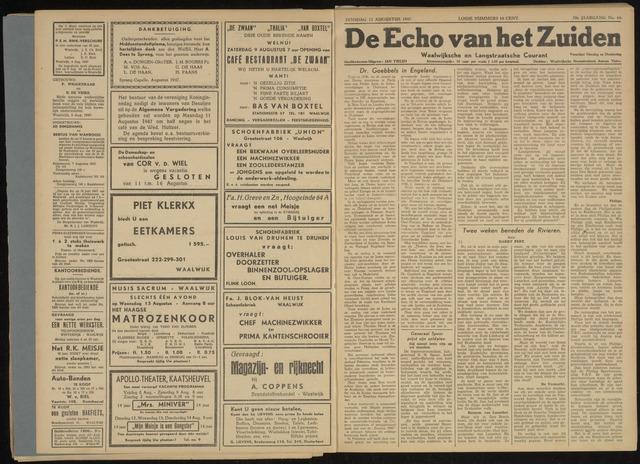 Echo van het Zuiden 1947-08-12