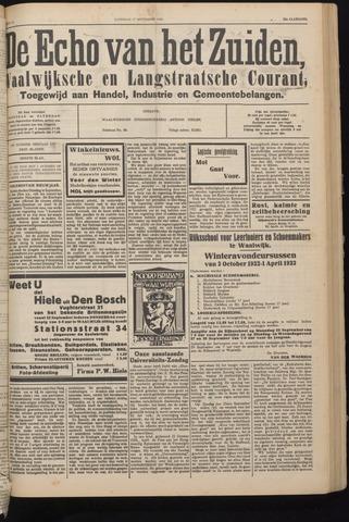 Echo van het Zuiden 1932-09-17