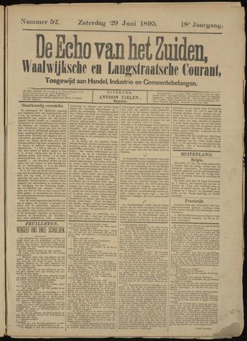 Echo van het Zuiden 1895-06-29
