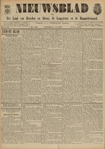 Nieuwsblad het land van Heusden en Altena de Langstraat en de Bommelerwaard 1895-12-14
