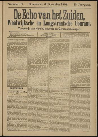 Echo van het Zuiden 1888-12-06