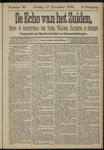 Echo van het Zuiden 1882-11-12