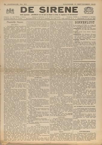 De Sirene 1945-09-10