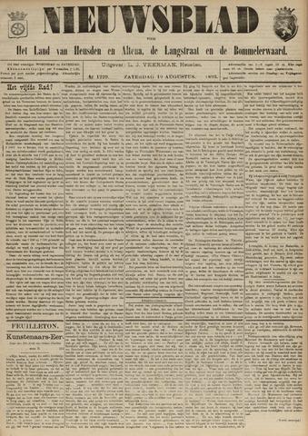 Nieuwsblad het land van Heusden en Altena de Langstraat en de Bommelerwaard 1893-08-19