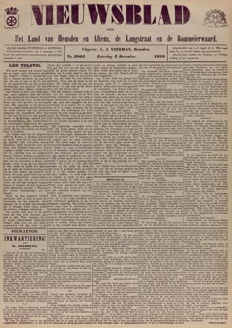 Nieuwsblad het land van Heusden en Altena de Langstraat en de Bommelerwaard 1910-12-03