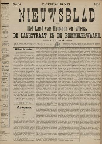 Nieuwsblad het land van Heusden en Altena de Langstraat en de Bommelerwaard 1882-05-13