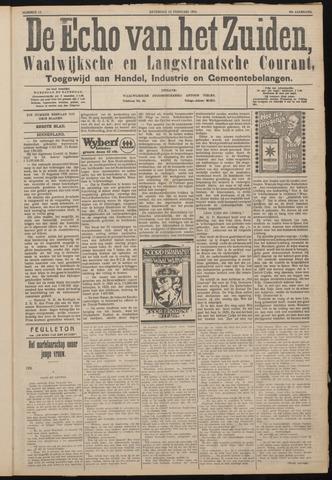 Echo van het Zuiden 1926-02-13